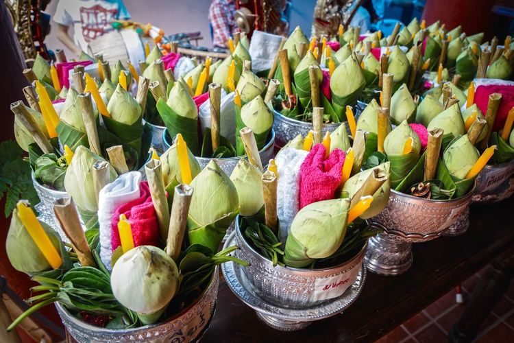 Celebration for loi krathong festival