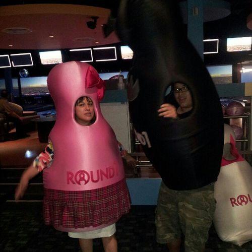 Round one Monsbday Bowling Bowlingpincostumes Mall