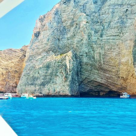 Zante Zakynthos Greece Sun Sea Colors Blue Shipwreck Beach Summer Travel Holiday
