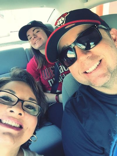 On our way to the Dbacks game!👊🏼😫❤️