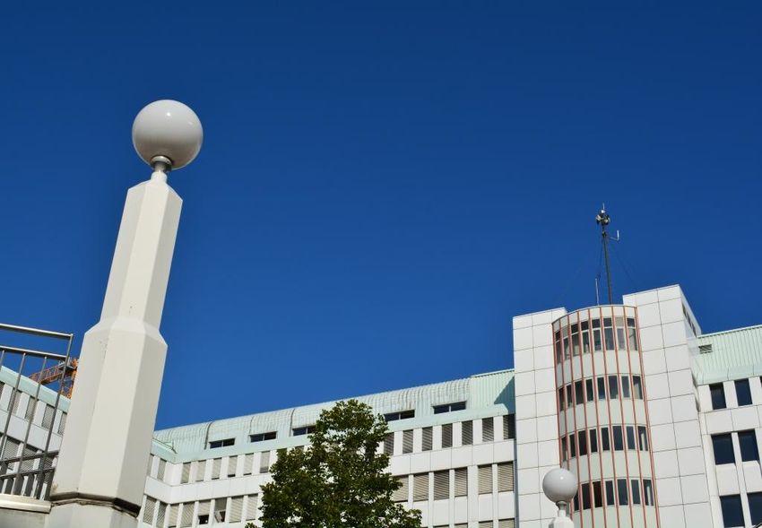 Architecture Vienna Blue Sky City