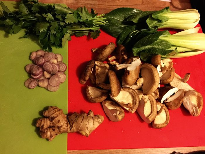 yummy yummy in my tummy! Asian Cooking Raw Ingredients