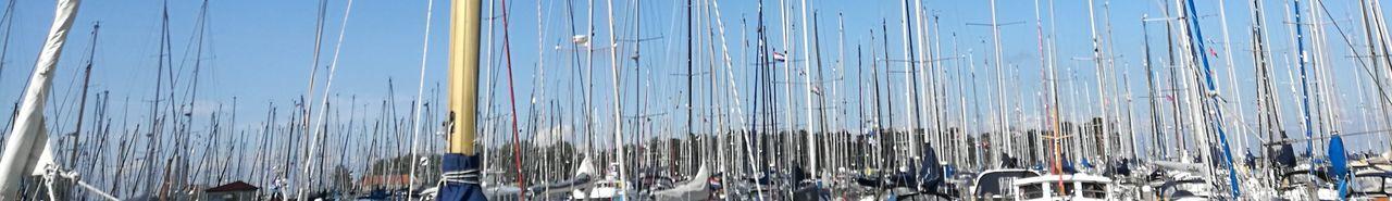 Sailing Day Outdoors No People Sky Blue Holland❤ Sail Sailing Boat