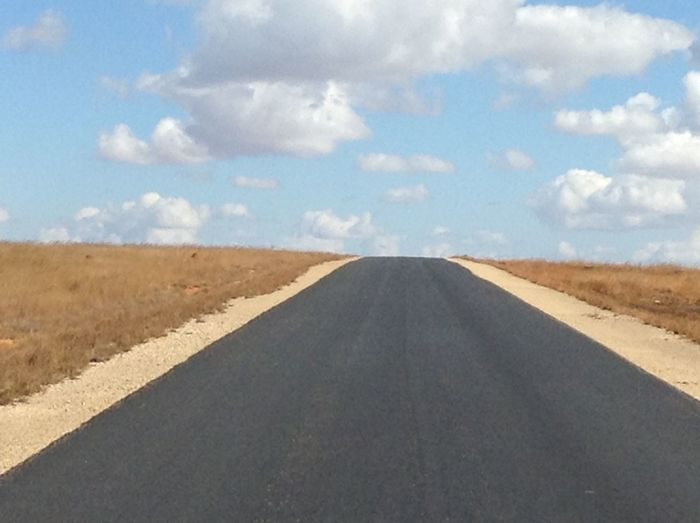 Ranohira Madagascar  Route Sakaraha Isalo