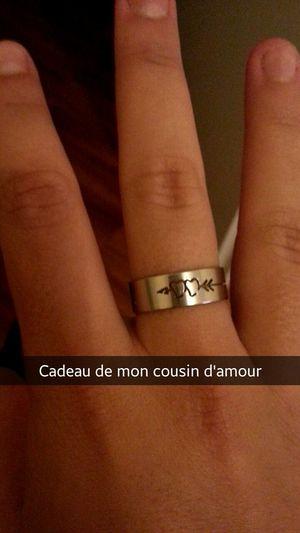 Mon cousin est au dessus Bague Coeur  Dorian Coeursurlui