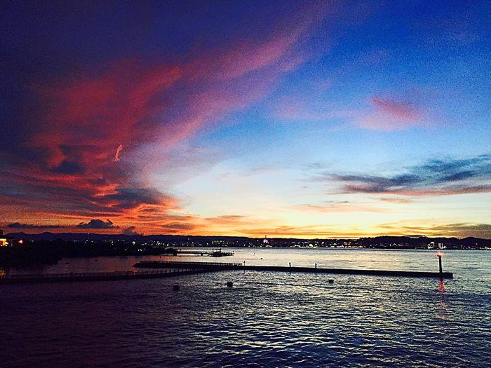 사쿠라지마섬 Sunset Sea First Eyeem Photo