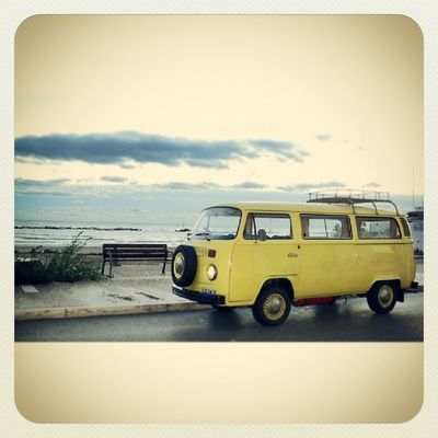Busvolkswagen Vintage Transporter Cibborio aircooled cupramarittima rivieradellepalme lungomare T2 igerspiceni igersmarche