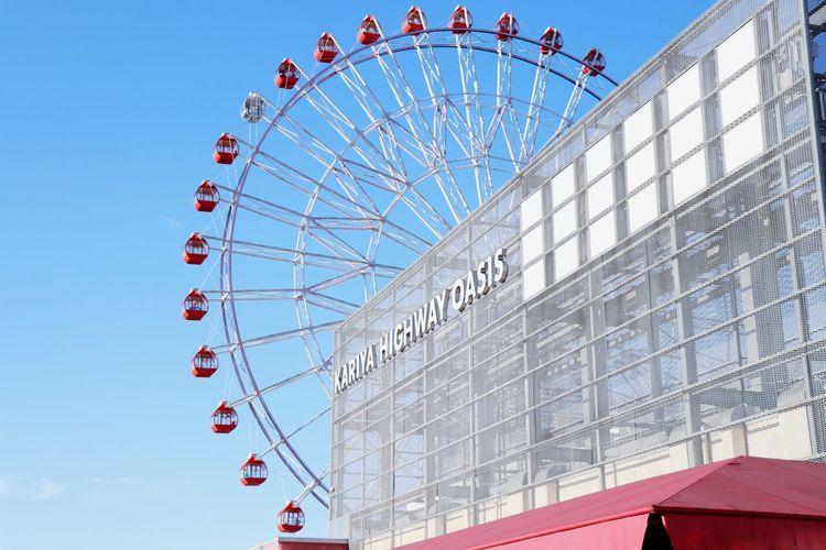 Kariya Highway Oasis Kariya 刈谷ハイウェイオアシス Ferris Wheel Arts Culture And Entertainment Architecture Day Modern No People Outdoors Sky