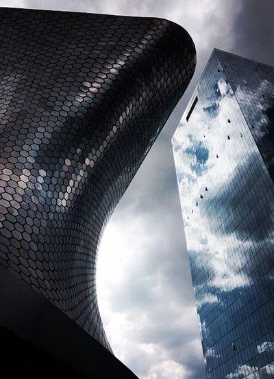 Hacia las alturas. Architecture Museosoumaya Mexico City