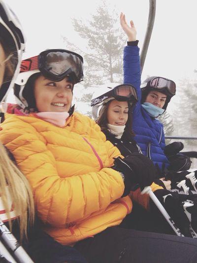 Taking Photos Skiing Mountains Enjoying Life