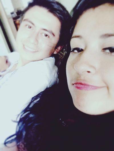Simplemente Ella... El Amor de mi vida :33 Paulina & Atzael ❤️ Muy Feliz! Domingo Con Mi Hermosa Novia Te Amo ❤