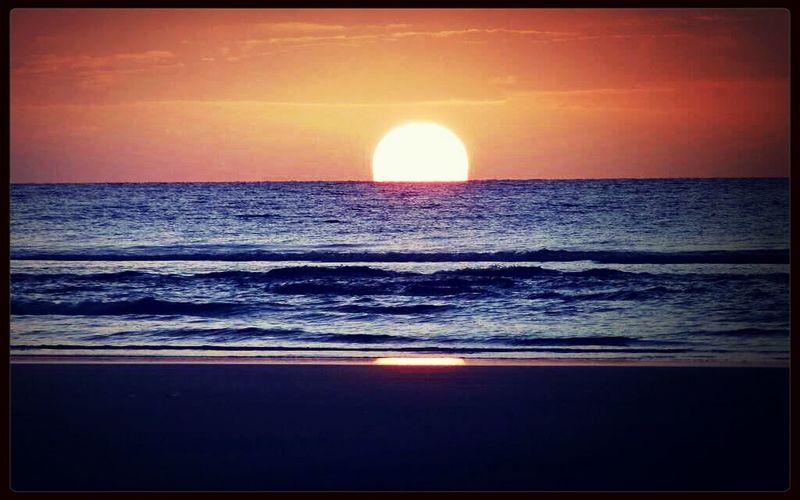 Gün batımı...