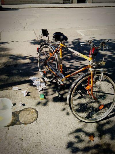 newfall newbeginning cleanstart Citylife Clean Fall Puch Cleanbeginning A New Beginning Sand Bicycle Shadow Vehicle Moving EyeEmNewHere
