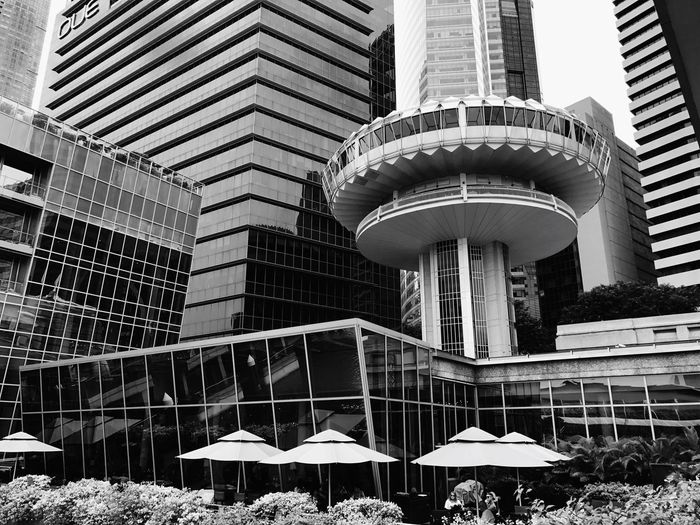 Flying saucer Blackandwhite Landscape Building Exterior Architecture Deceptively Simple Monochrome Architecture Lines Urban Landscape Eyeem Philippines Singapore