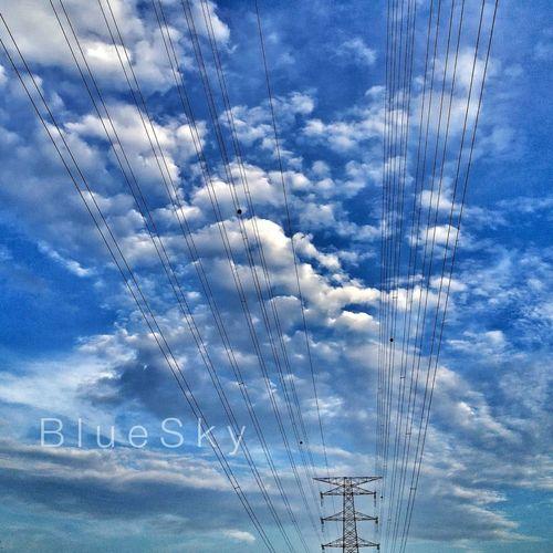 Blue Sky @ Monday Morning