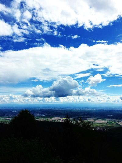 Sky Cloud - Sky Tranquil Scene Nature Scenics Sea Tranquility Beauty In Nature Water Landscape No People Outdoors Day Horizon Over Water Blue The Great Outdoors - 2017 EyeEm Awards