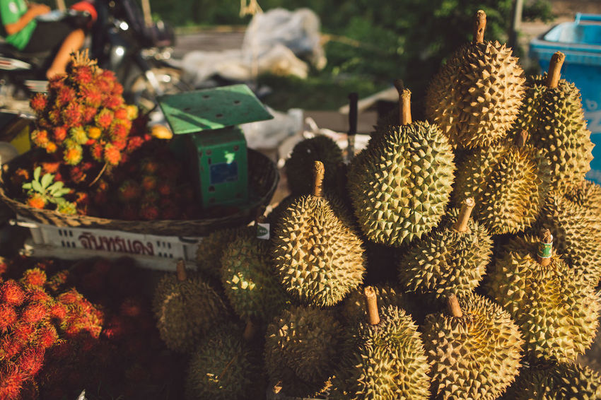 Siem Reap Cambodia Angkor Freshness No People Market Food And Drink For Sale Healthy Eating Plant Food Nature Abundance Retail  Still Life Focus On Foreground Market Stall Large Group Of Objects Wellbeing Day Fruit Beauty In Nature Cactus Outdoors Retail Display Flower Head