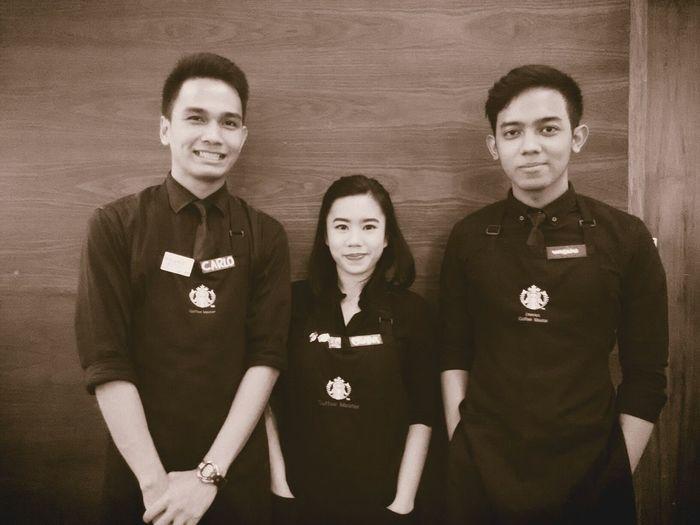 The baristas Starbucks EyeEm Indonesia Blackapron ToBeAPartner
