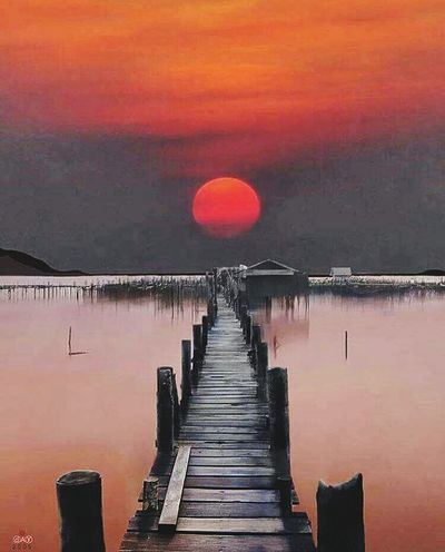 Landscapes With WhiteWall beautiful sunset