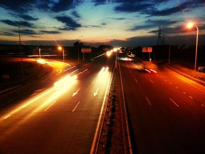 The road Odessa