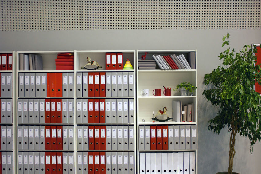 Architecture Beauty In Nature Boring Day Indoors  Locker No People Outdoors Plants Red Sadness Shelf