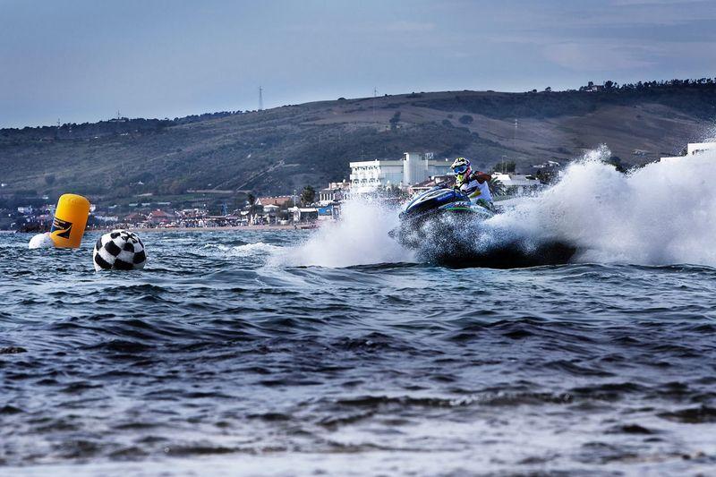 Moto d'acqua Water Splashing Sea Nature Group Of People Transportation Nautical Vessel Sport Aquatic Sport Day