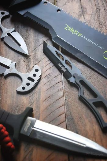 Man Made Object Photography Photo Of The Day Charlotte, NC Knifes Knives Survival Blades Sharpe