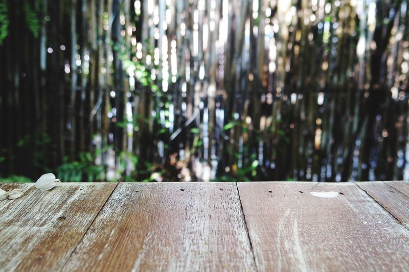 Bamboo Background Wood - Material No People Nature Table Outdoors Day Tree Close-up