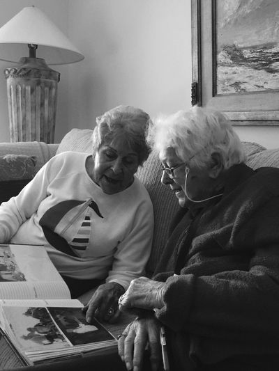 Sisters reminiscing Sisters ❤ Sisters Reminiscing Photo Album Elderlywoman IPS2016People