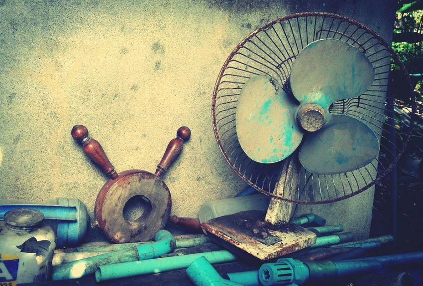 EyeEm Selects Metal Things Day Indoors  No People Old Items Somthing Old Something Blue Outdoors