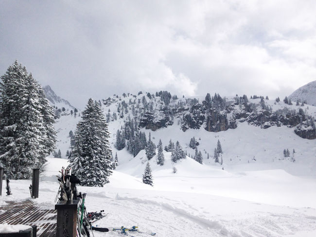 Austria Beauty In Nature Landscape Mountain Landscape With Whitewall Skiing In Austria 👌 Snow Snow Covered Warth Winter