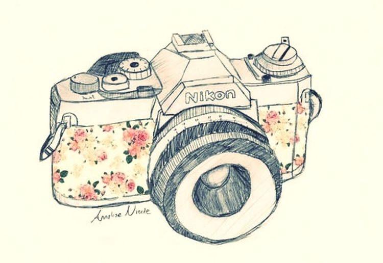 Camera Fashion Photography Pudding Camera Flowers