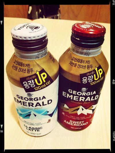 Delicious Coffee Georgia 당분간 커피는 너희들이 짱이다! (개당 990원의 위엄...ㄷㄷㄷ)
