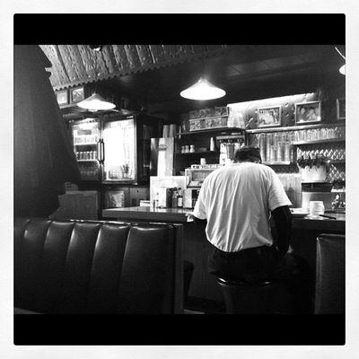 Diner breakfast no.2 Rainbowrestaurant 3GS Oshawa Iphoneonly blackandwhite