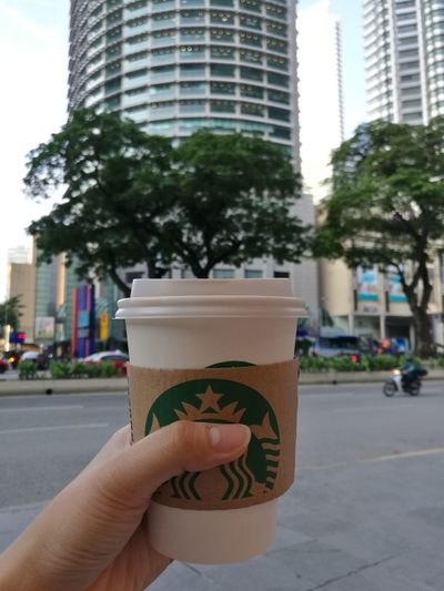 Coffeeaddict Starbucks Workinglife A Coffee A Day Coffee Time Hot Drinks Freshly Brewed. The Starter For The Day
