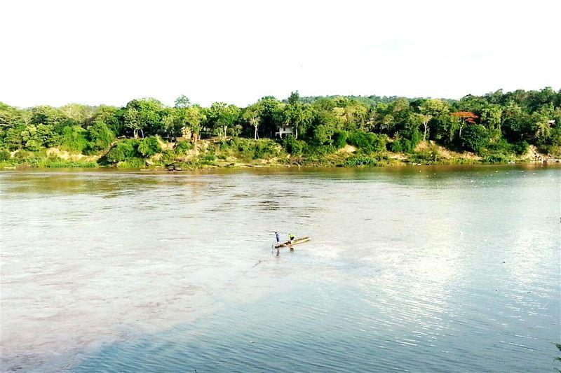 โขงขุ่นสีปูน แม่มูลสีคราม Lifestyle Urban Urbanlife แม่น้ำสองสี Twocolorriver Ubonratchathani Thailand
