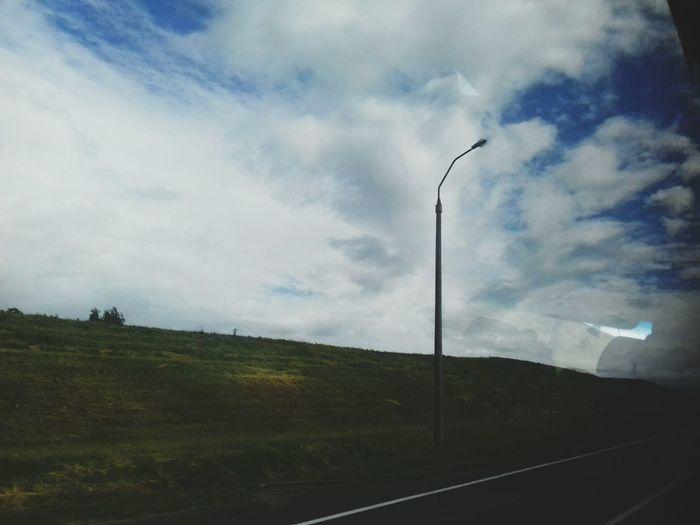 EyeEm Selects Cloud - Sky Rural Scene Sky Road No People Electricity  Nature