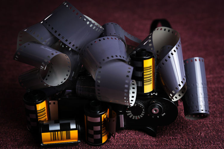 Film Film Is Not Dead Camera - Photographic Equipment Day Film Camera Film Industry Film Photography Indoors  No People Photography Photography Themes Spool Technology