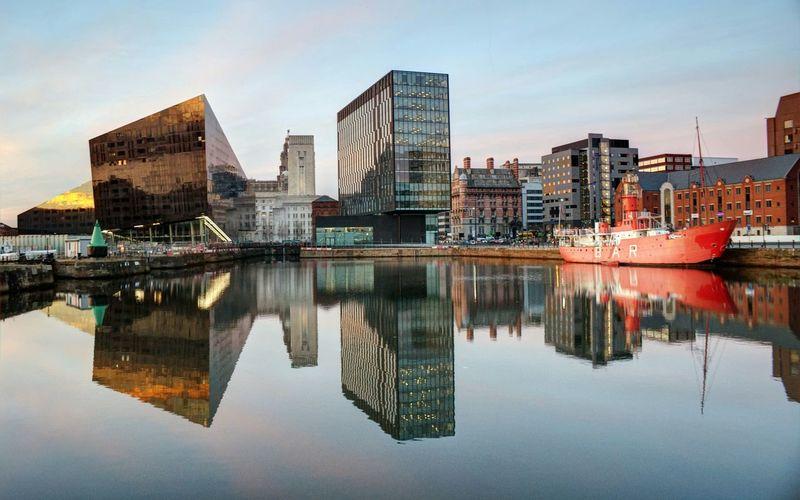 Liverpool Docks Liverpool Water Reflection EyeEm Bestsellers