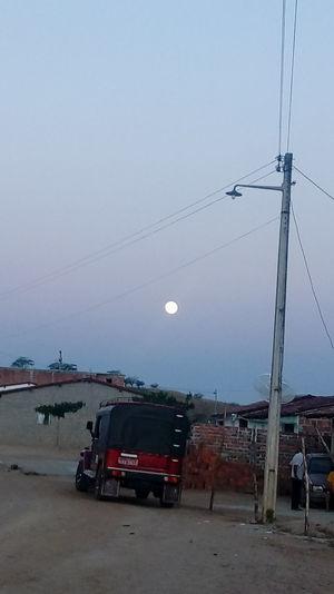 Lua No Nordeste Brasil..