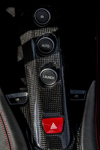 Car Interior Control Convertible Car Display Ferrari California T HS Gear Shift Retractable Roof Transmission Tunnel