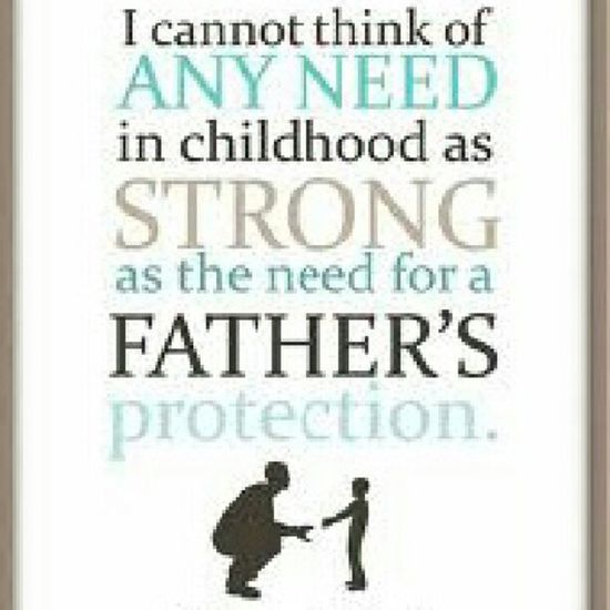 To all the Real Fathers ....