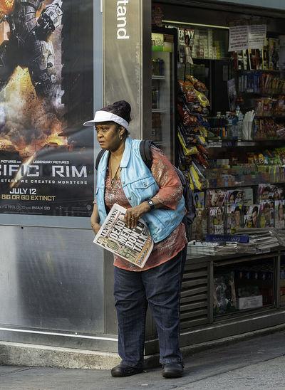 Kiosk Woman