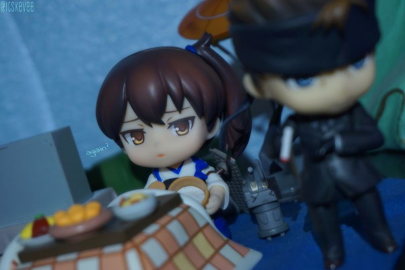 Close-up Group Of Objects Indoors  Large Group Of Objects Man Made Object No People Selective Focus KAGA Solidsnake Cigarette  Kancolle Kantaicollection Metalgearsolid Indoors  Innocence Nendoroid