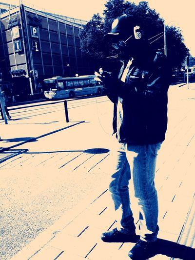 Em photofilter on b/w.. Just a test Hanging Out Streetphotography Gothenburg Graslund