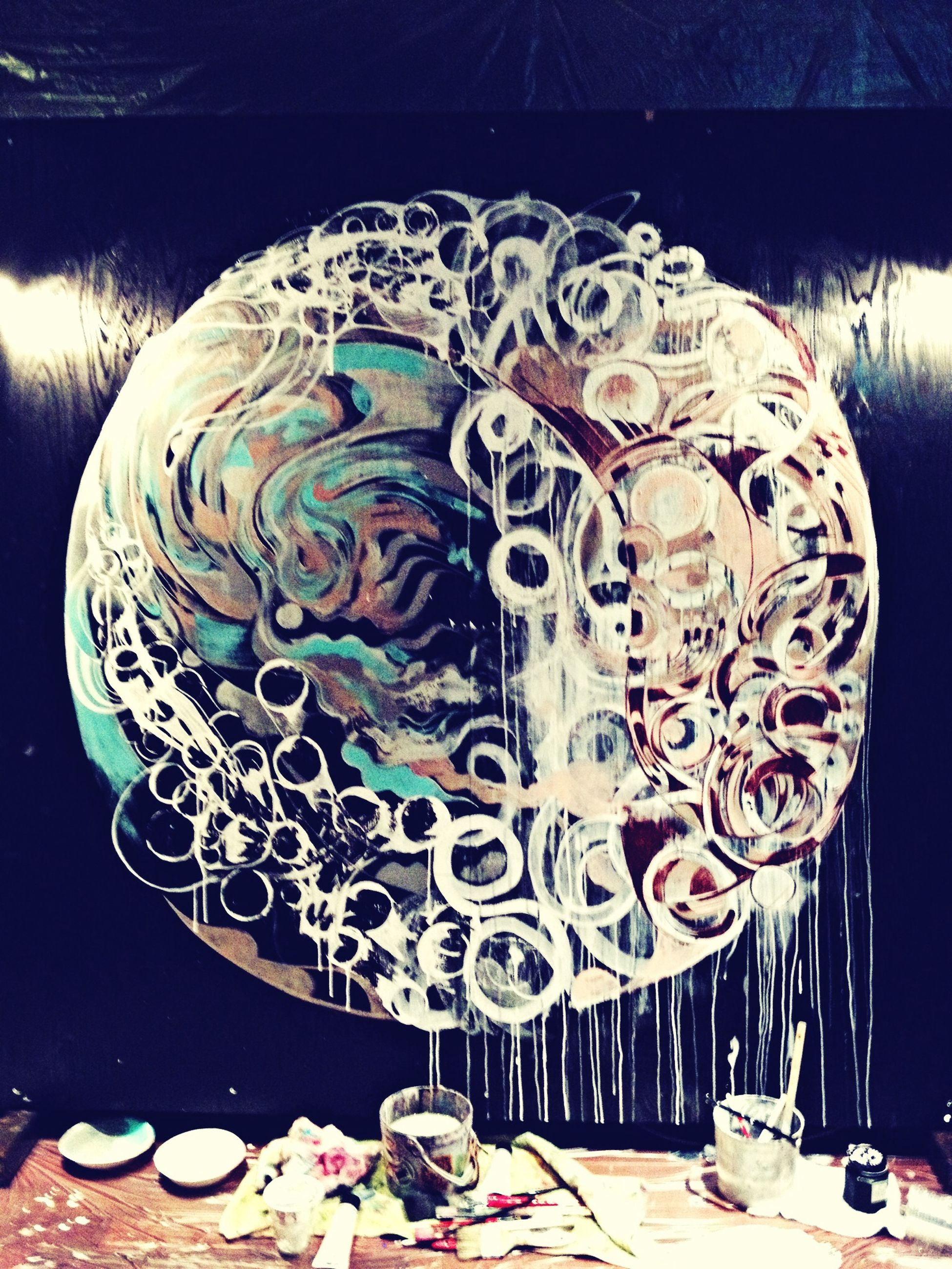 creativity, art, art and craft, animal representation, multi colored, human representation, decoration, craft, indoors, graffiti, design, celebration, amusement park, no people, arts culture and entertainment, sculpture, pattern, day