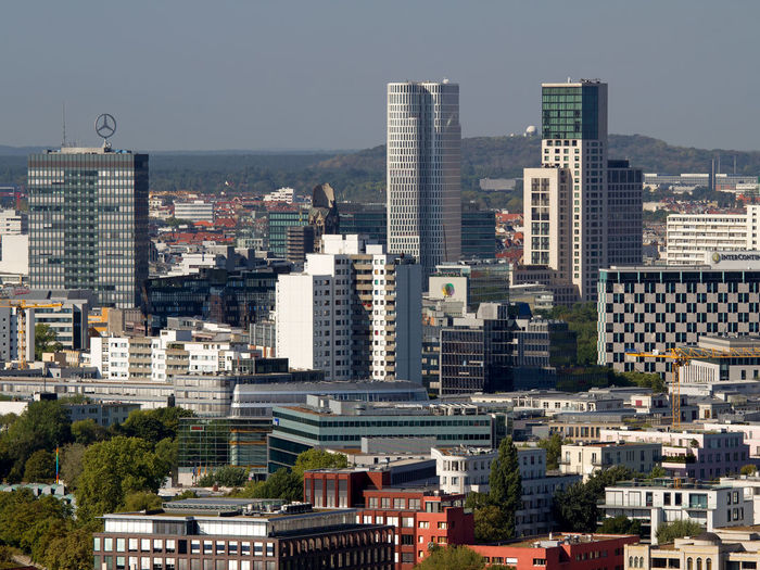 Panorama of Berlin/Germany Aerial View Aerial Views Architecture Berlin Capital Cities City City View  City Views Cityscape Cityscapes Germany House Facade House Facades Modern Office Building Office Buildings Panorama Skyscraper Skyscrapers Tower Towers Town Towns Urban Skyline First Eyeem Photo
