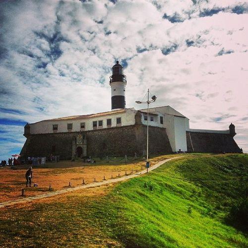 Amazing Salvador, Brasil Salvador Brasil Farol da Barra Faroldabarra Самый первый маяк на континенте, 38 метров )))