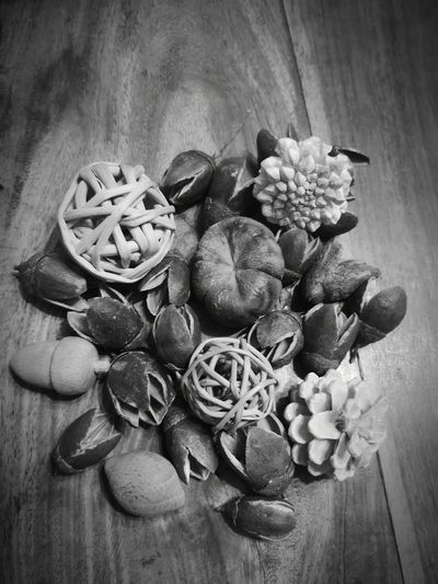 Fruits of nature... Black & White Huawei P20 Pro Photography Table Wood - Material Close-up Hazelnut Nut - Food Dried Food