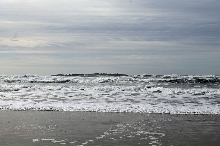 Beach Beauty In Nature Horizon Over Water Nature Nature Photography Ocean Oregon Oregon Coast Outdoors Pacific Northwest  Pacific Ocean Seascape Surf Water Wave Waves Waves Crashing Weekend Activities West Coast